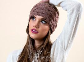 Braided knit Alpaca Headband