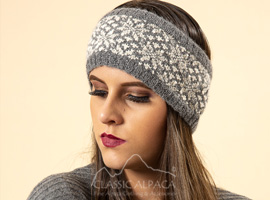 Veruska Nordic Alpaca Headband