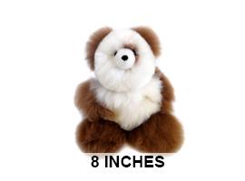 "BABY Alpaca Fur-Teddy Bear 8"""
