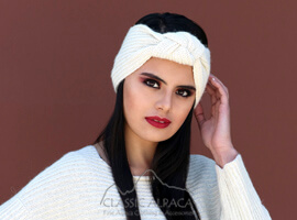 Turban Alpaca Headband