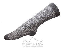 Alpaca Nordic Socks   Classic Alpaca Peru