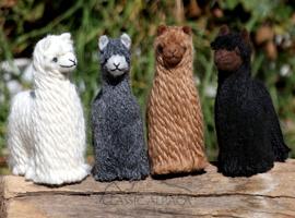 Needle Felted Suri Baby Alpaca