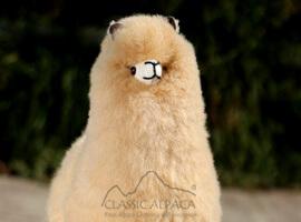 """Baby Alpaca Fur-Standing Alpaca 12"""""""