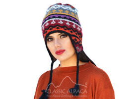 Telluride Alpaca Hat with Ear Flaps