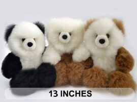 "PREMIUM Baby Alpaca Fur -Teddy Bear 13"""