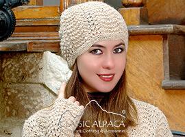 Scallop Lace Alpaca Hat | Classic Alpaca Peru