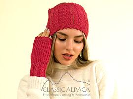 Alpaca Cable Fantasy Headband   Classic Alpaca Peru