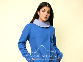 Annastasia Baby Alpaca Double-Face Coat   Classic Alpaca Peru