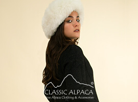 Reversible Alpaca Dress Coat   Classic Alpaca Peru
