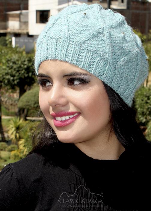 Phyllis Alpaca Hat