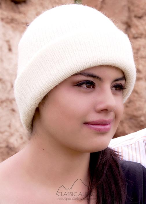 Double Knit English Alpaca Hat
