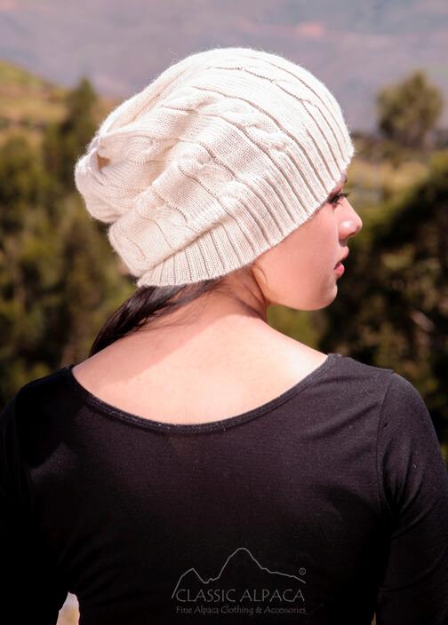 Justin Cable Alpaca Hat
