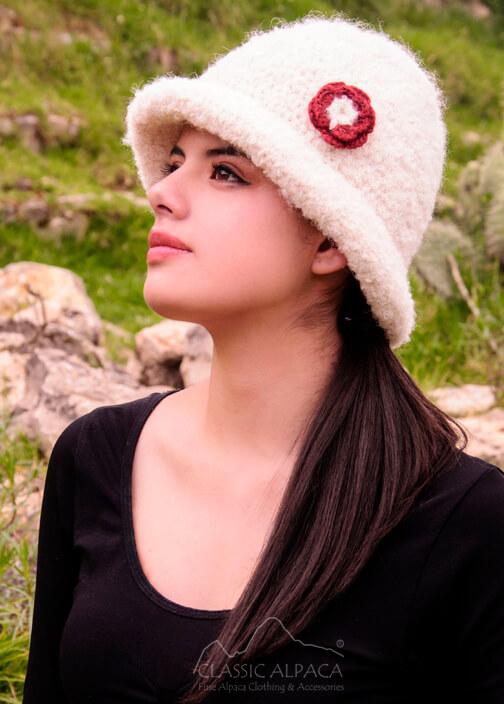 Boucle Alpaca Hat
