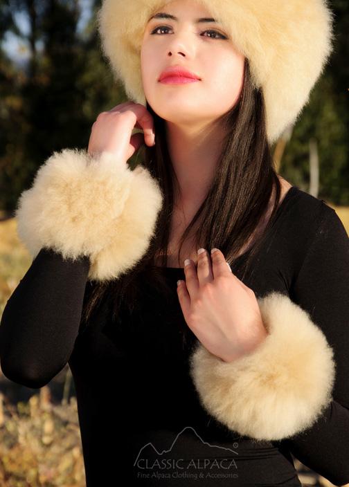 PREMIUM Baby Alpaca Fur Cuff