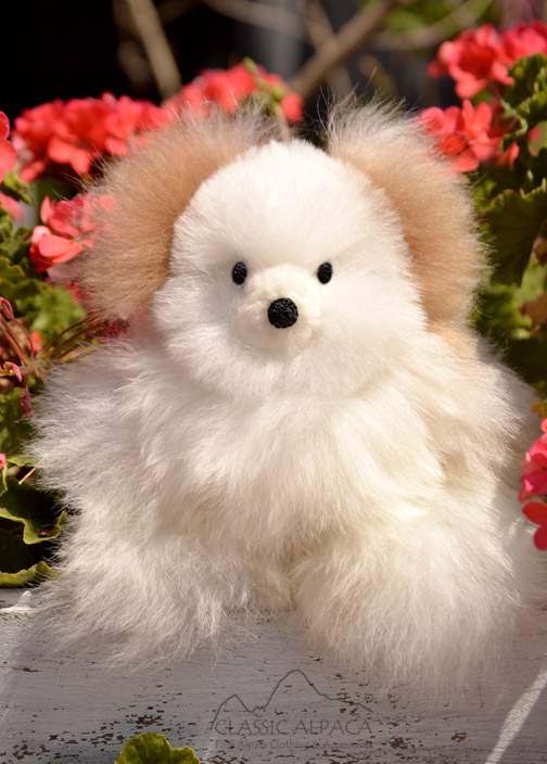 BABY Alpaca Fur-Classic Ornament 10 inches