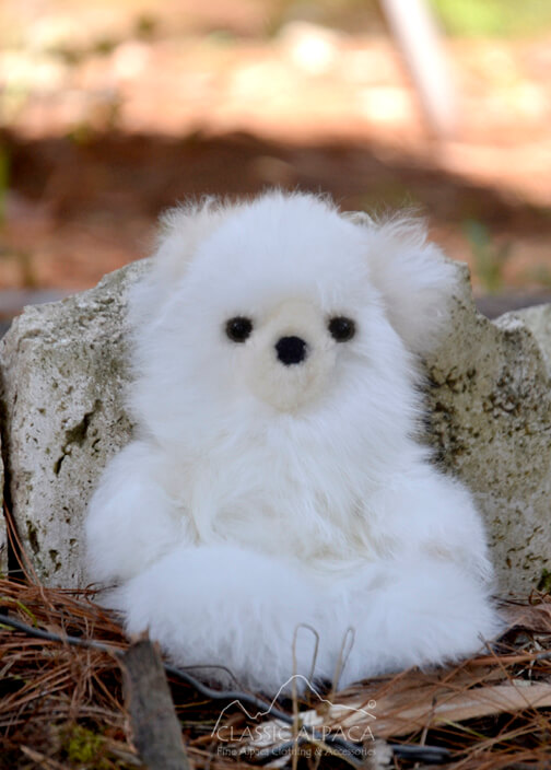BABY Alpaca Fur-Teddy Bear 6 inches