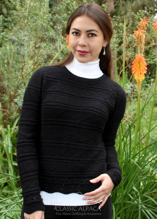 Karolina Baby Alpaca Sweater