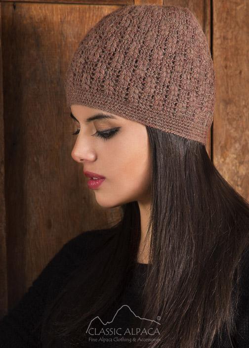 Chiara Crocheted Alpaca Hat