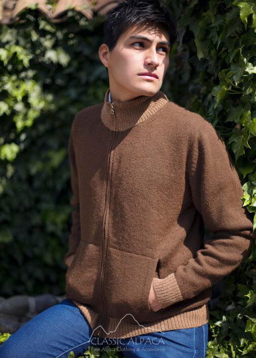 Ishmael Full Zip Cardigan Sweater