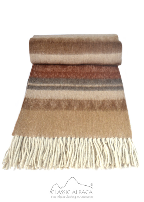 Alpaca Cherokee Blanket | Classic Alpaca Peru