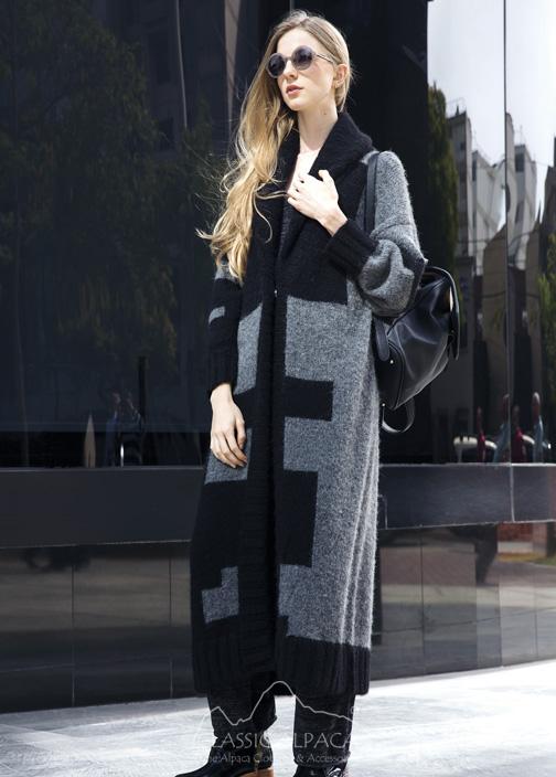 Eithne Oversized Long Coat
