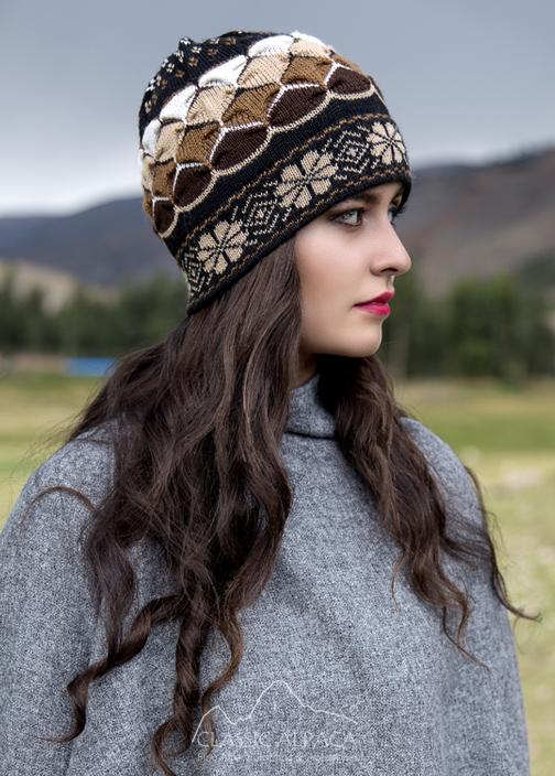 Natura Alpaca Knit Hat