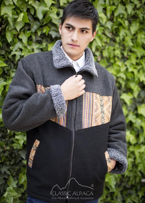 Men's Alpaca Barn Jacket