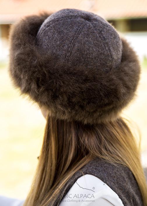 PREMIUM Royal Alpaca Fabric Fur Hat