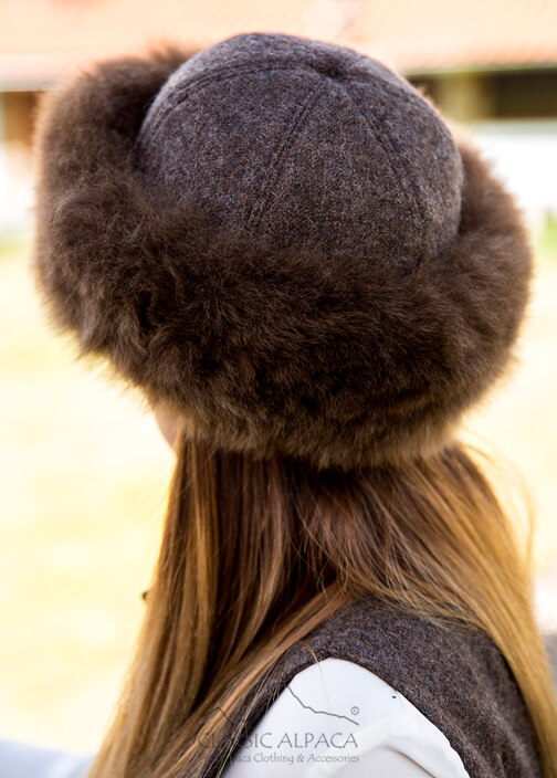 PREMIUM Royal Alpaca Fabric Fur Hat