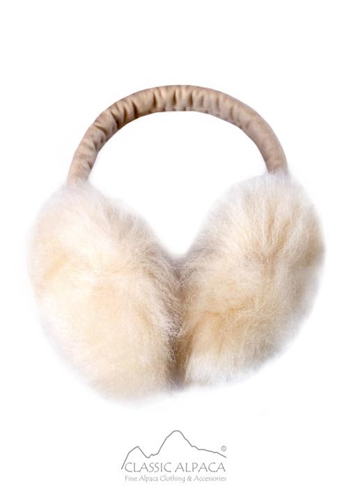 PREMIUM Baby Alpaca Fur Ear Muffs
