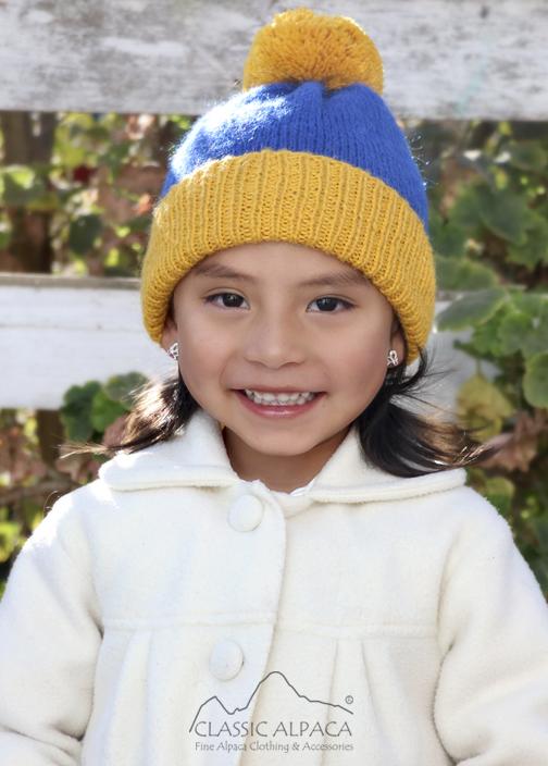 Alpaca Kids - PomPom Hat