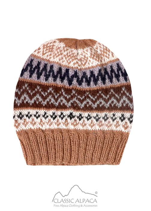 Fair Isle Alpaca Hat