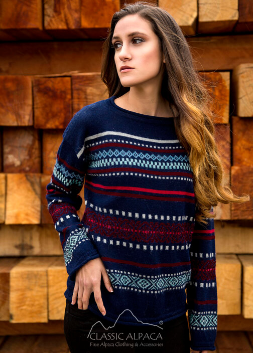 Country Meadow Alpaca Sweater