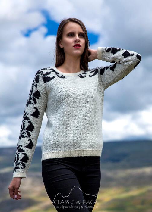 Rozalia Alpaca Sweater
