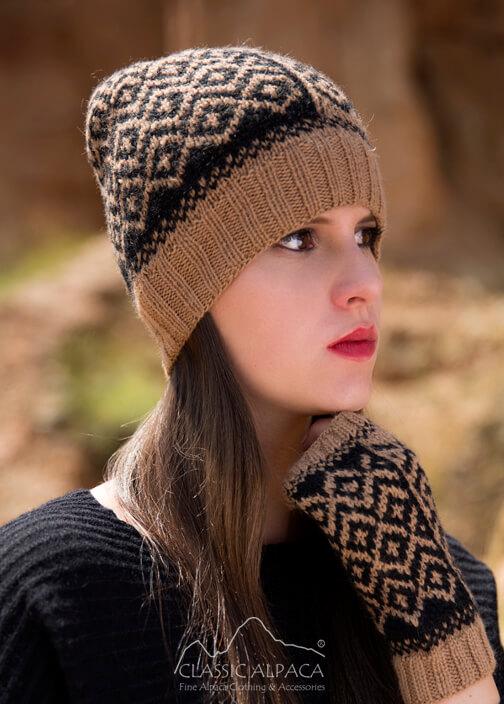 Mackenzie Baby Alpaca Hat