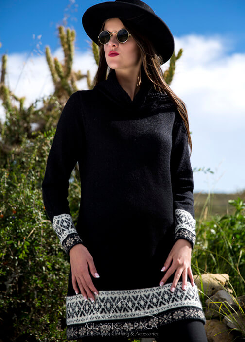 Bellucci Alpaca Sweater Dress