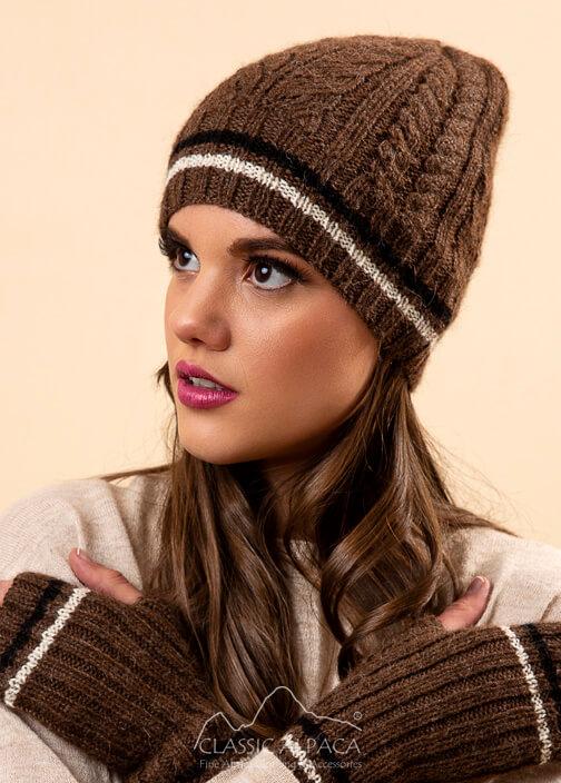 Angelle Alpaca Knit Hat