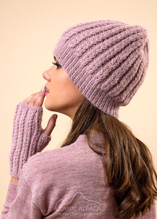 Aubrey Alpaca Knit Hat