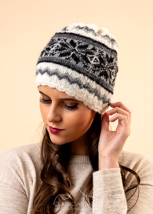 Nordic Brushed Alpaca Hat