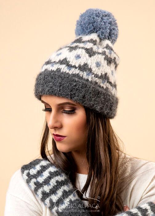 Utah Brushed Alpaca Hat