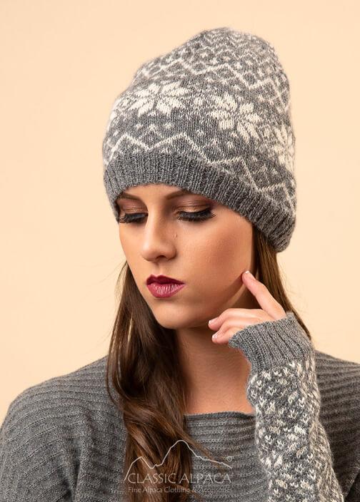 Veruska Nordic Alpaca Hat
