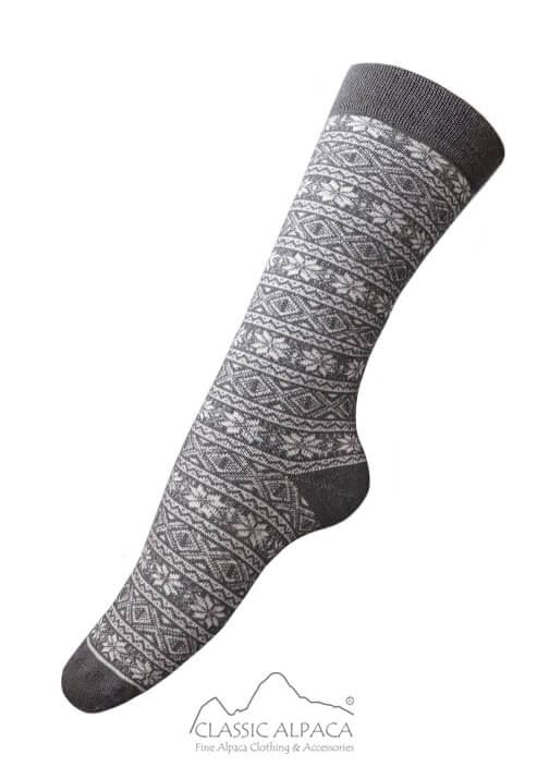 Alpaca Nordic Socks