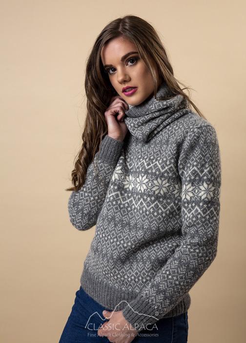 Veruska Nordic Alpaca Sweater
