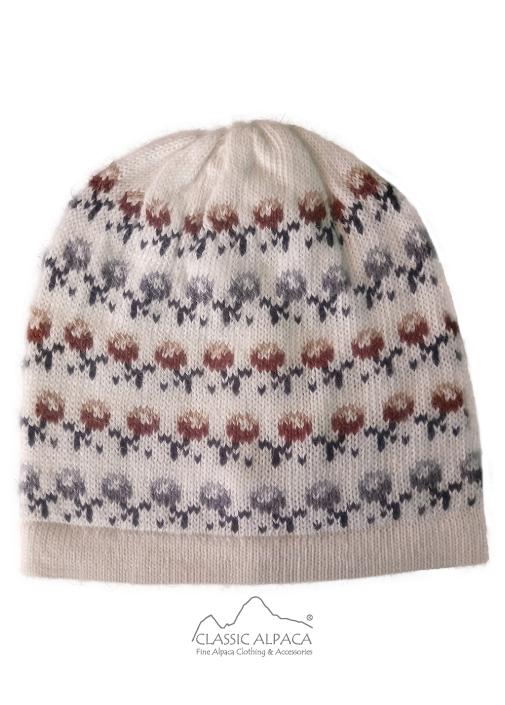 Wanchaq Alpaca Knit Hat - Fleece Lining