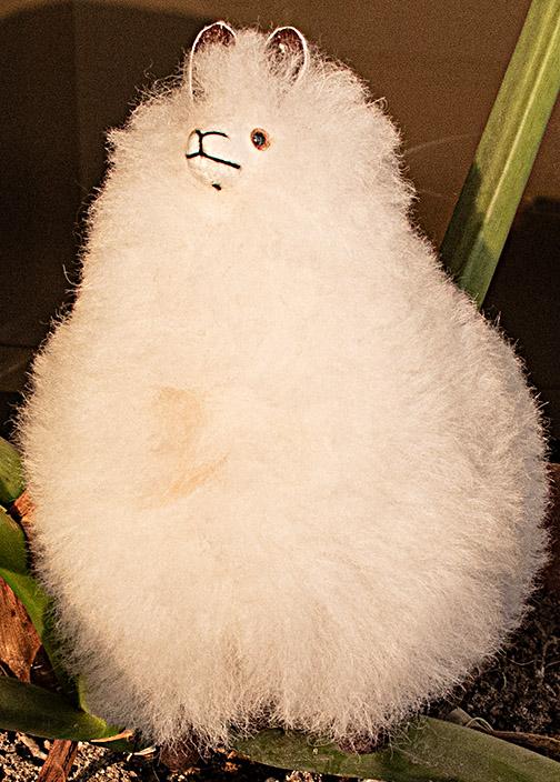 """Baby Alpaca Fur-Standing Alpaca 7"""""""
