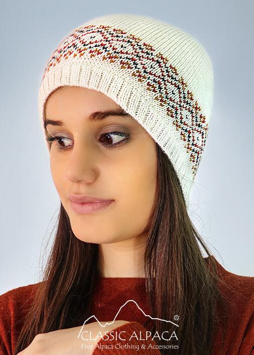 Lille Alpaca Knit Hat - Fleece Lining