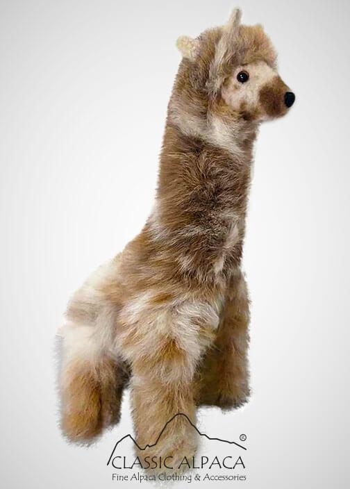 "Baby Alpaca Fur - Giraffe Ornament 15"""