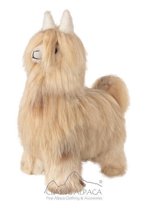 """Baby Alpaca Suri Fur- Standing Alpaca 12"""""""