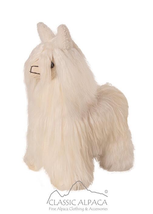 """Baby Alpaca Suri Fur- Standing Alpaca 8"""""""