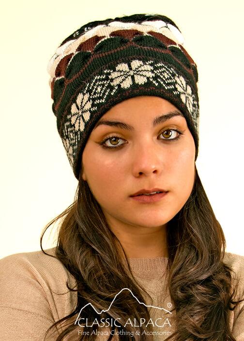 Natura Alpaca Knit Hat - Fleece Lining | Classic Alpaca Peru